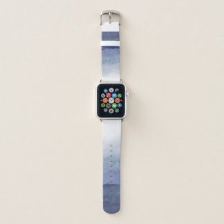 Blue Watercolor Ombre Apple Watch Band