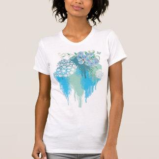 Blue watercolor shirts