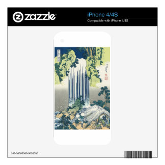 Blue Waterfall iPhone 4S Skins