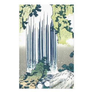 Blue Waterfall Stationery