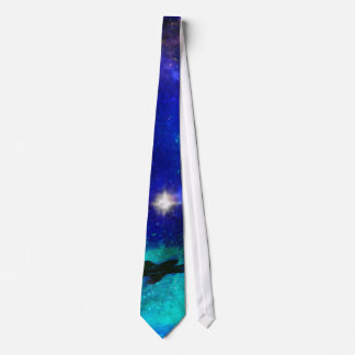Blue Waters and Starry Sapphire Skies Tie