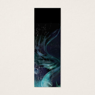 Blue Waters bookmark - Tale of a Mermaid Mini Business Card