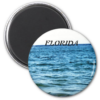 BLUE WATERS 2 INCH ROUND MAGNET