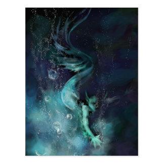 Blue Waters - postcard