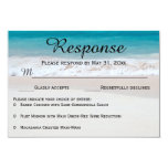 Blue Waters White Sand RSVP Response Cards
