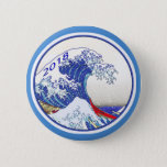 "Blue Wave 2018 Election Button<br><div class=""desc"">Show you support for a big blue tsunami wave in the 2018 mid-term elections.</div>"