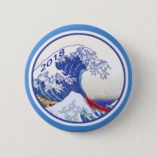 Blue Wave 2018 Election Button