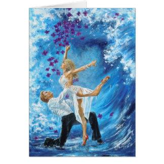 Blue Wave Card
