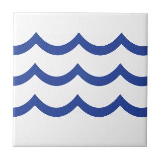 BLUE WAVE CERAMIC TILE
