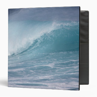 Blue wave crashing, Maui, Hawaii, USA 2 Binder