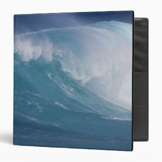 Blue wave crashing, Maui, Hawaii, USA Binder