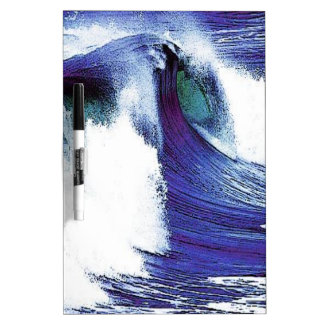 Blue Wave Dry Erase Board