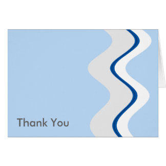 Blue Wave Greeting Cards