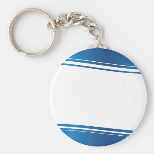 Blue Wave Key Chain