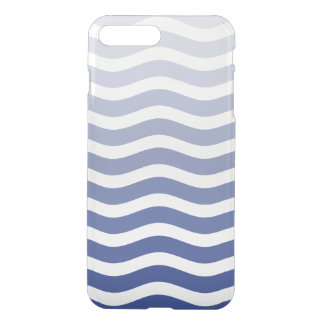 Blue Wave Ombre iPhone 7 Plus Case