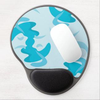 Blue Wave Pattern Mousepad Gel Mouse Pad