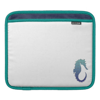 Blue Wave Seahorse Sleeve For iPads