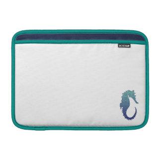 Blue Wave Seahorse Sleeve For MacBook Air