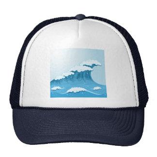 Blue Wave Surf and Ocean Trucker Hat