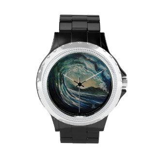 Blue Wave Wrist Watches