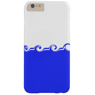 Blue waves barely there iPhone 6 plus case