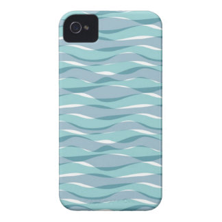 Blue Waves iPhone 4 Case