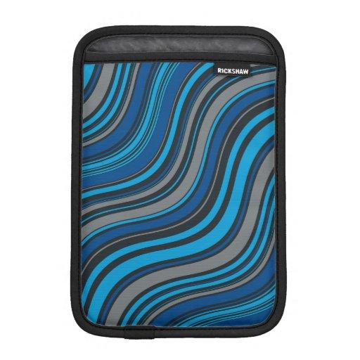 Blue Waves iPad Mini Sleeves