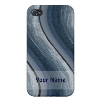 Blue Waves Iphone Case iPhone 4 Case