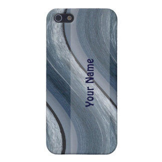 Blue Waves Iphone Case iPhone 5 Cases