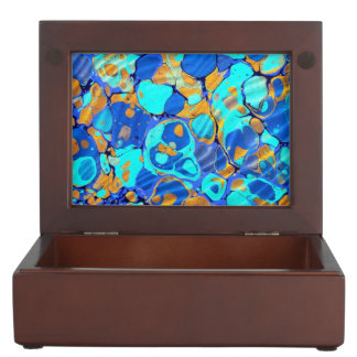 Blue Waves keepsake box