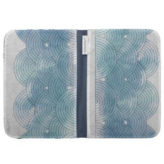 Blue Waves Kindle Case