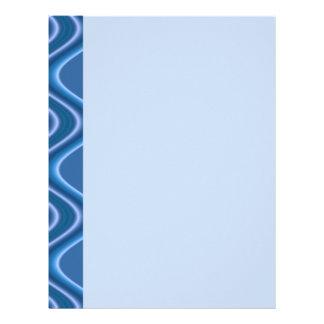 blue waves letterhead