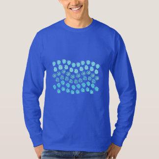 Blue Waves Men's Basic Long Sleeve T-Shirt