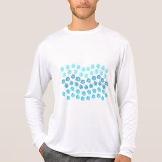 Blue Waves Men's Sports Long Sleeve T-Shirt