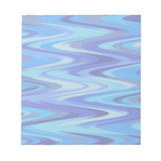 blue waves memo notepads
