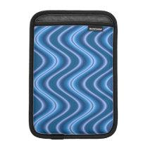 Blue Waves Pattern iPad Mini Sleeve