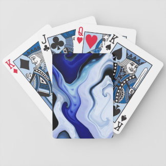 Blue Waves Playing Cards