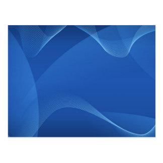 Blue Waves Postcard