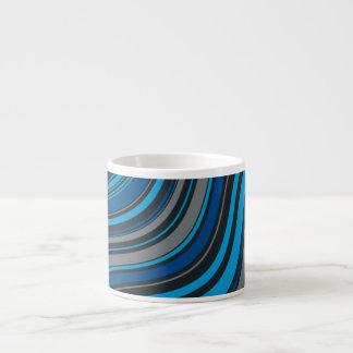 Blue Waves Espresso Cup