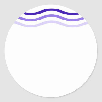 Blue Waves Stickers