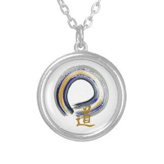 Blue Way, Zen Enso Necklace