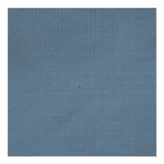 Blue Weave Textured Background Poster