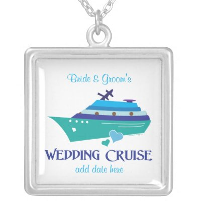 cruise wedding favors