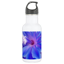 Blue Wedding Flowers Gigts by Sharles Water Bottle