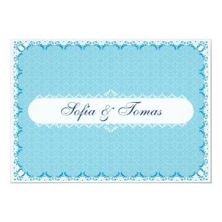 BLUE - Wedding Invitation