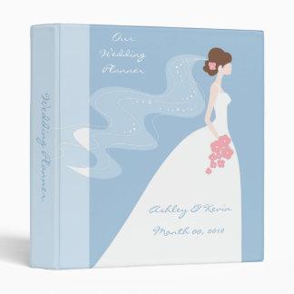 Blue Wedding Planner binder