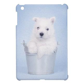 Blue westie case for the iPad mini