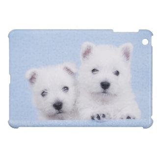 Blue Westies iPad Mini Case