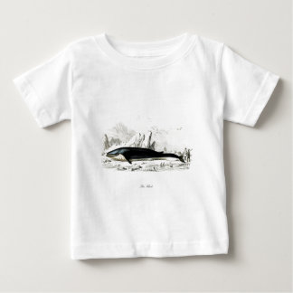 Blue Whale #8 Whaling scene Gift for him Baby T-Shirt