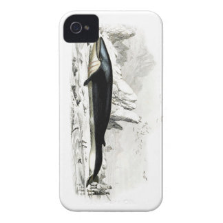Blue Whale #8 Whaling scene Gift for him iPhone 4 Covers